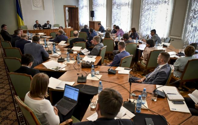 Фото: засідання Ради з питань судової реформи (прес-служби АПУ)