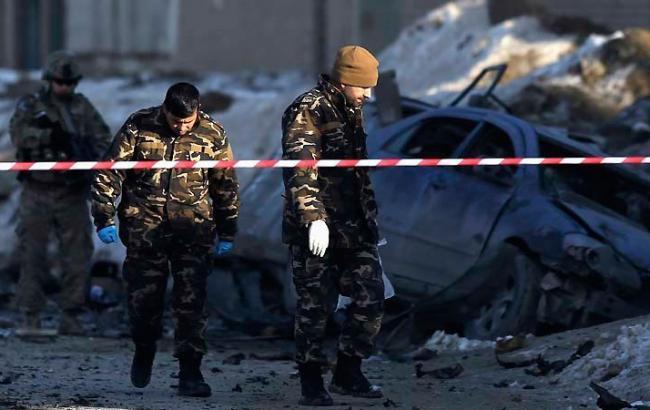 Фото: у центрі Кабула стався теракт