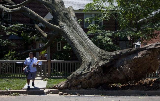 У США бурі знеструмили будинки понад 105 тисяч споживачів
