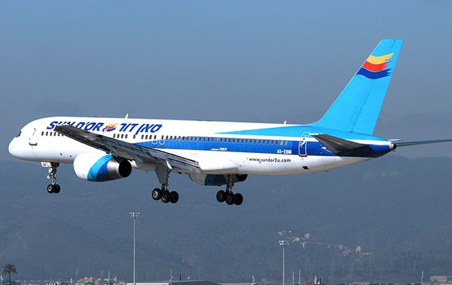 Фото: літак авіакомпанії Sund'Or (jetphotos.com)