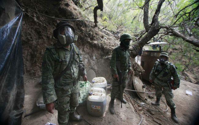 Фото: в Колумбії знищили лабораторії, виробляли кокаїн