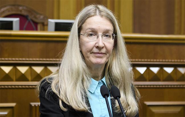 Фото: Ульяна Супрун (kmu.gov.ua)