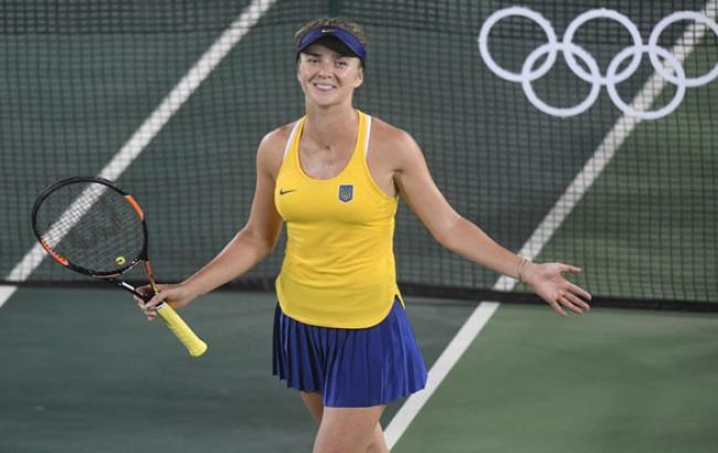 Фото: Элина Свитолина на Олимпиаде в Рио (reuters.com)