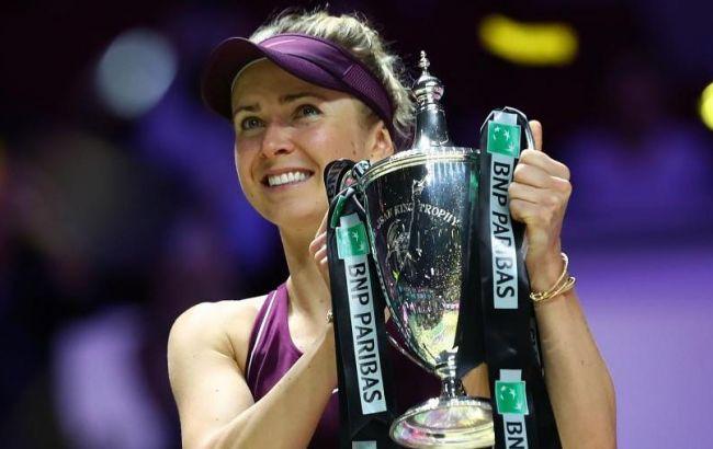 Свитолина стала победительницей итогового турнира WTA