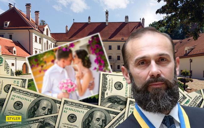 В сети рассказали о роскошной свадьбе в Австрии сына украинского судьи