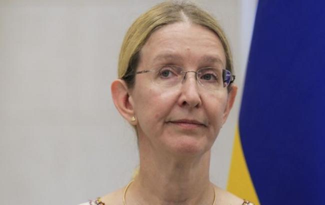 Супрун: поменьшей мере 95% людей вгосударстве Украина должны быть вакцинированы