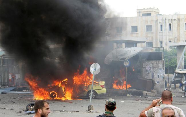 Фото: взрывы в Сирии 5 сентября