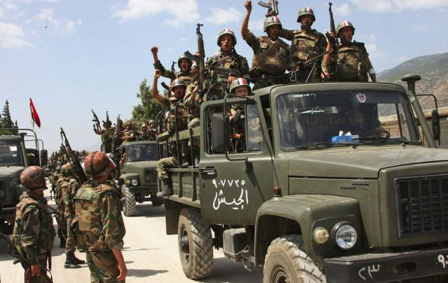 Армия Асада взяла под контроль автостраду каэропорту Алеппо