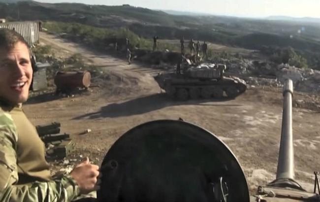 Фото: российские военные в Сирии