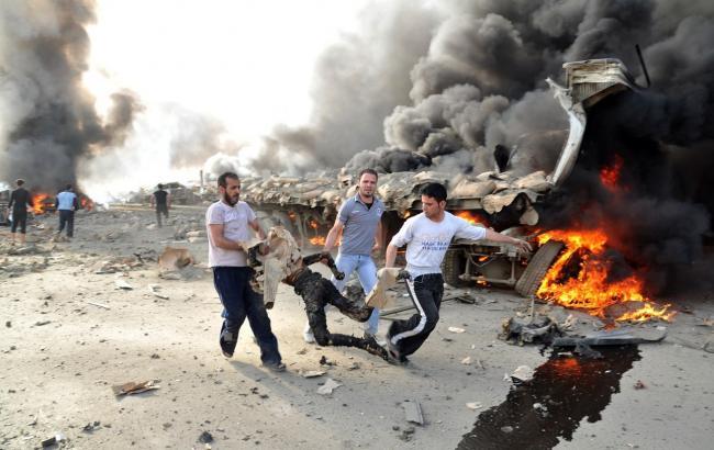 В результаті газової атаки в Сирії загинули щонайменше 35 осіб
