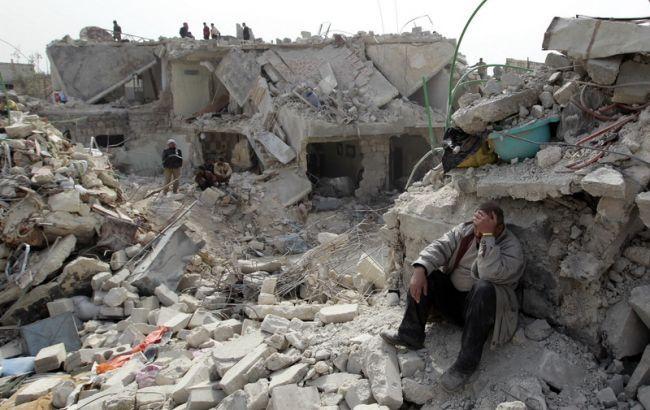 Фото: дети в Сирии гибнут в результате бомбардировок