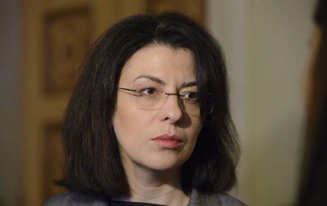 Фото: Оксана Сироїд закликала юридично визнати окупацію