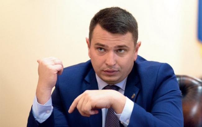 Фото: руководитель НАБУ Артем Сытник