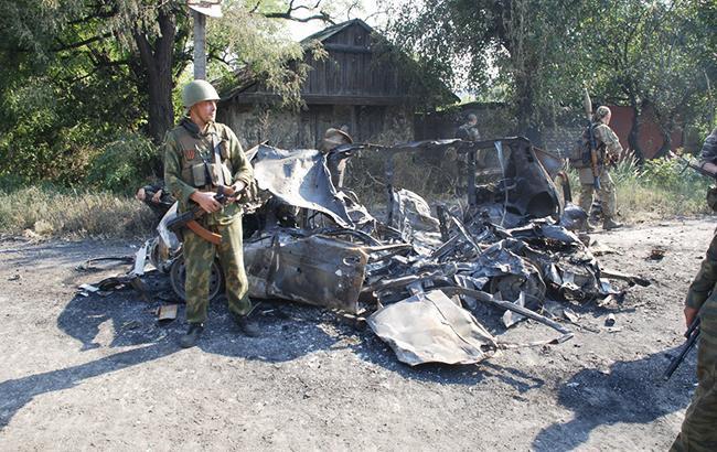 Фото: боевики на Донбассе (twitter.com/dubovoyslavyans)