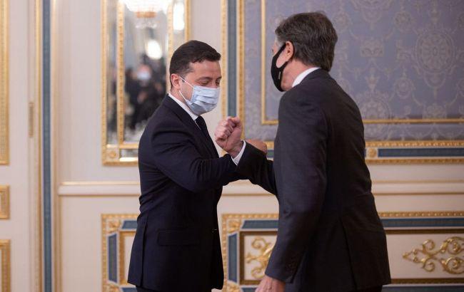 Зеленский провел встречу с Блинкеном: основные заявления