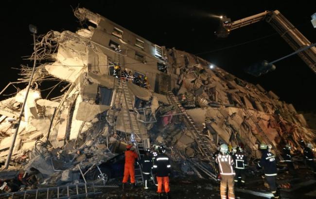 Землетрус на Тайвані: 3 людини загинуло