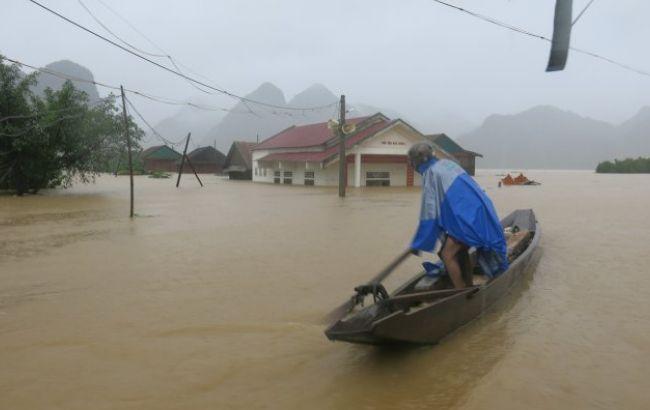 Фото: наводнение во Вьетнаме