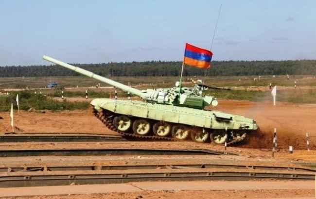 Минобороны Азербайджана заявило об уничтожении 10 армянских танков в Нагорном Карабахе