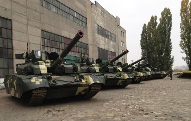 """Фото: украинские танки """"Оплот"""""""