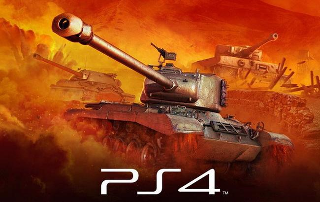 Фото: World of Tanks на PlayStation®4