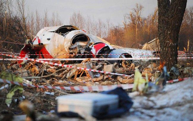 Фото: катастрофа под Смоленском