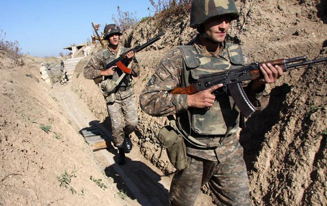 Фото: конфликт в Нагорном Карабахе