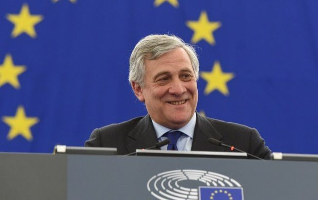 Антоніо Таяні обрано новим головою Європарламенту