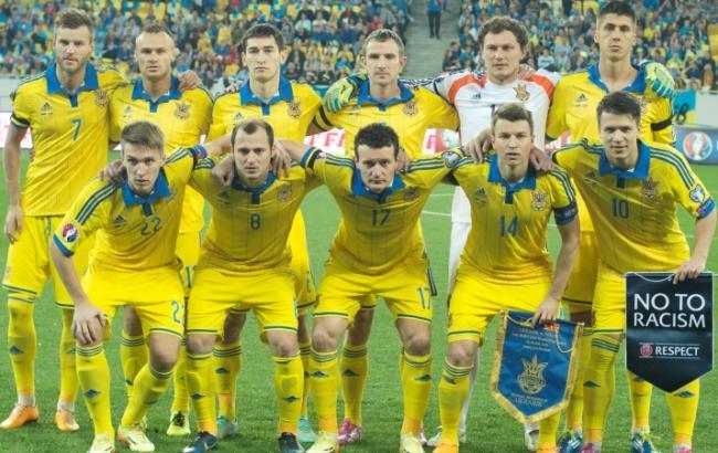 Україна втратила 3 позиції в рейтингу ФІФА
