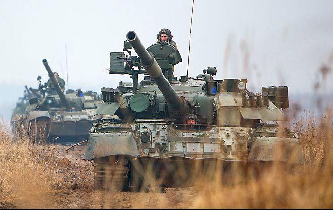 Росія посилює підрозділи бойовиків танками та артилерією