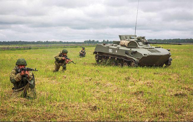 Фото: військові навчання РФ (tech-mil.ru)