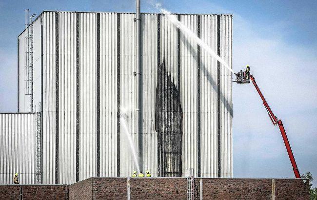 У Нідерландах загорілася колишня АЕС