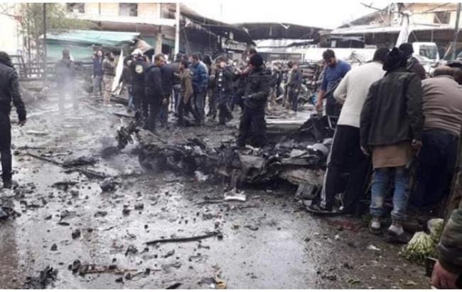 В Сирии при взрыве автомобиля погибли не менее 8 человек