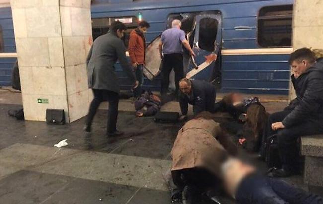 Фото: теракт у метро в Санкт-Петербурзі третього квітня