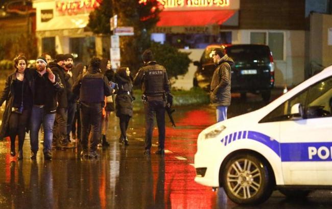 Фото: теракт в новогоднюю ночь в Стамбуле