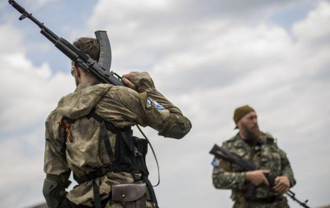 Фото: Боевики убежали (112.ua)