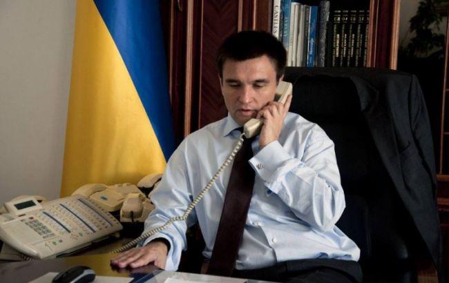 Клімкін і Лавров обговорили мінські угоди