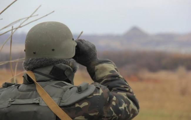 У Луганській області на вибуховому пристрої підірвався військовий