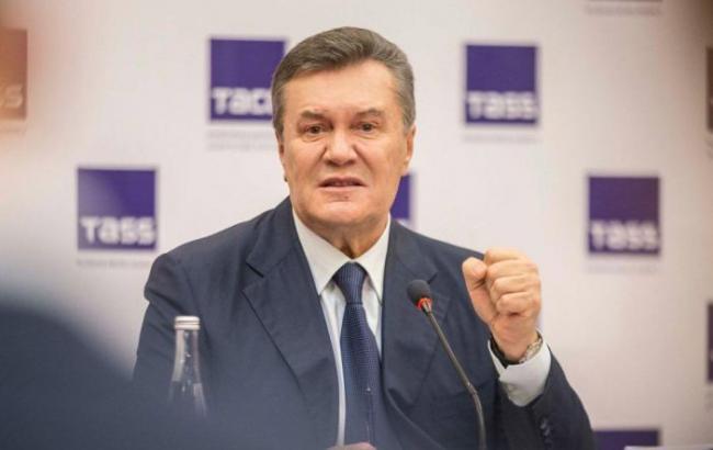 Фото: у допиті Віктора Януковича оголошено перерву