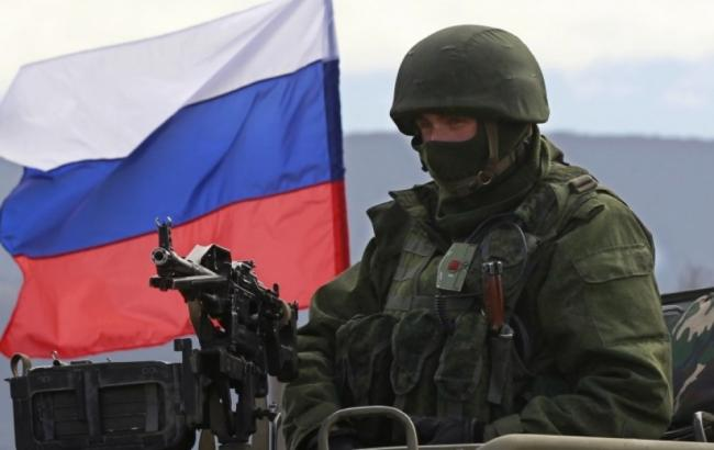 Фото: військовослужбовець РФ