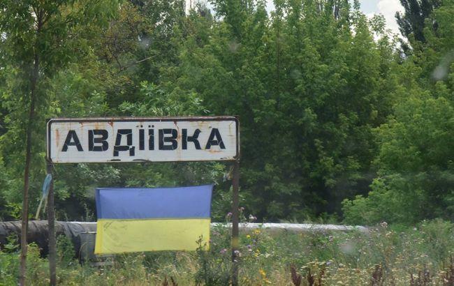 Фото: электроснабжение в Авдеевке отсутствует