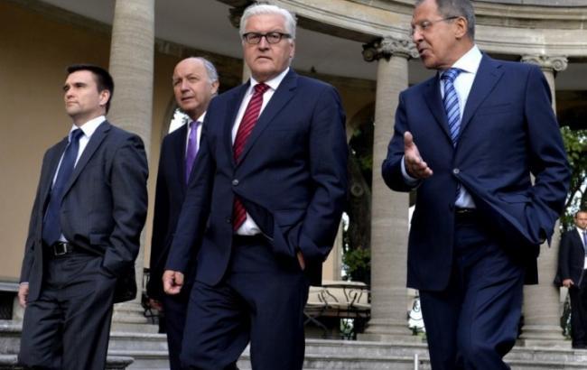"""Глави МЗС """"нормандської четвірки"""" завтра обговорять умови для проведення виборів на Донбасі"""