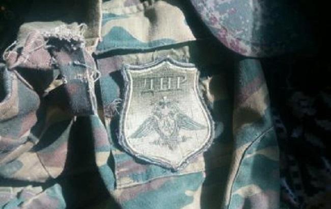 Фото: на одежде были шевроны ДНР