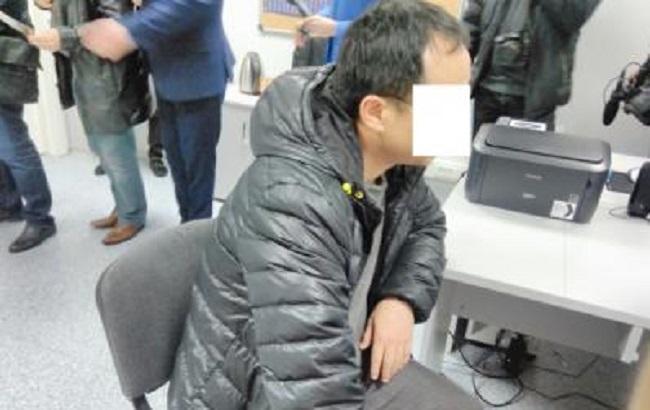 Одесские правоохранители задержали гражданина Китая, подозревамого вторговле украинскими девушками