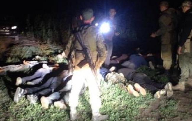 Фото: затримання порушників на кордоні з РФ (прес-центр ДПСУ)