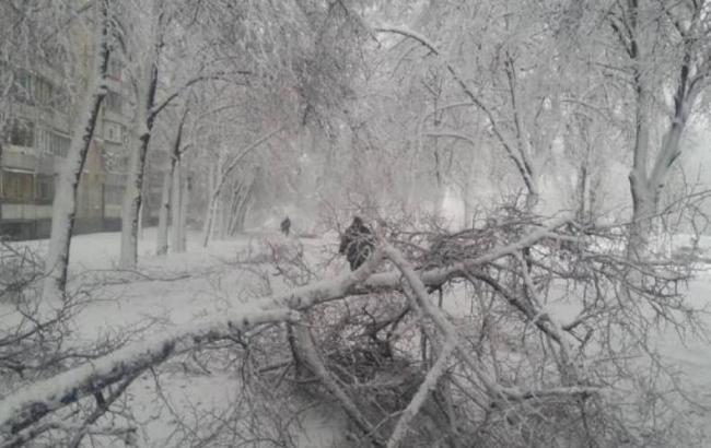 В Харьковской области непогода обесточила более 100 котельных