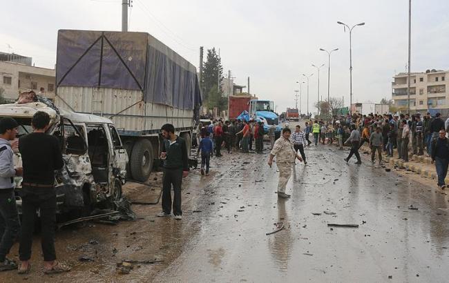Террорист-смертник подорвал автомобиль— Теракт вСирии