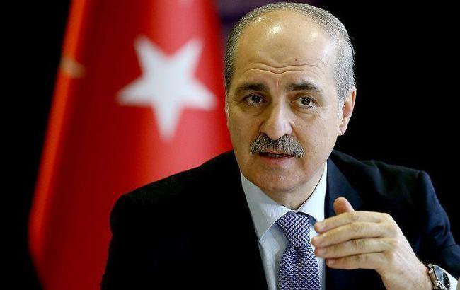 Фото: вице-премьер Турции Нуман Куртулмуш