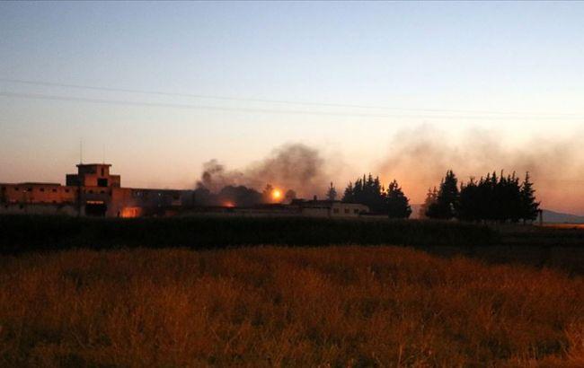 У Туреччині сталася серія вибухів на складі боєприпасів