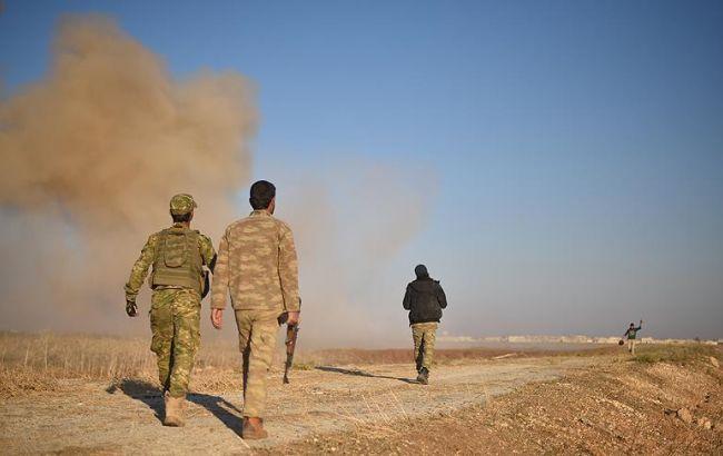 Фото: Туреччина заявляє про застосування ИГИЛ хімічної зброї в Сирії