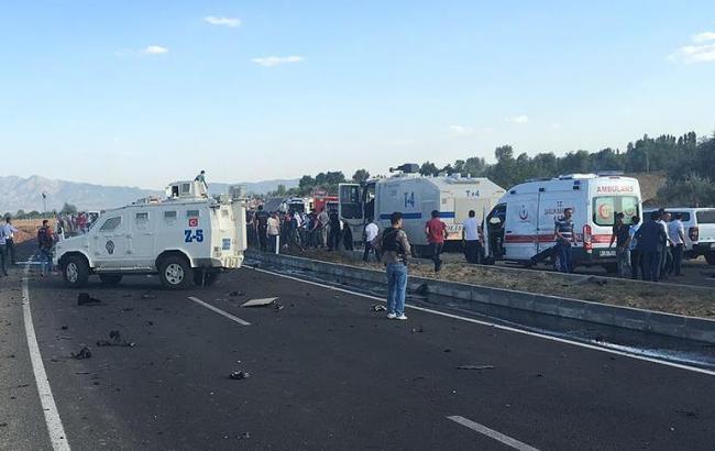 Фото: в Турции продолжается противостояние с курдами